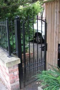 Contemporary Designs Single Gates Single Wrought Iron Gates Manchester