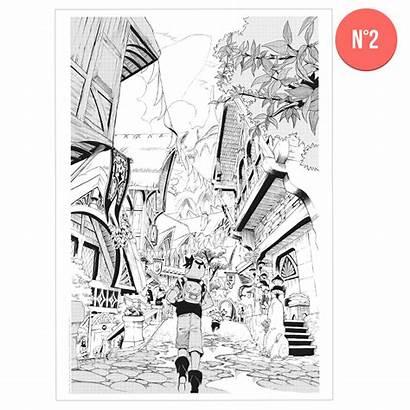 Manga Planche Radiant Reproduced Reproduction Precedent Ankama