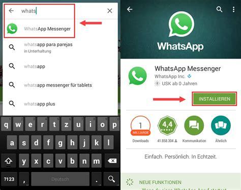 whatsapp neu installieren wenn der messenger probleme macht