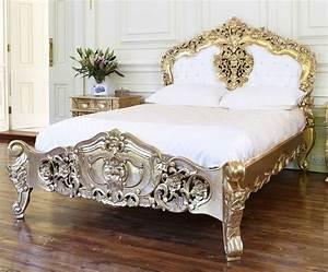 Lit Baroque Pas Cher : lit style baroque ~ Teatrodelosmanantiales.com Idées de Décoration