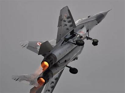 Mig Airshow Fulcrum Polish Display Fighter Force