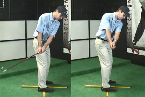Golf Swing Takeaway by 4 Square Drill For An On Plane Golf Takeaway And Backswing