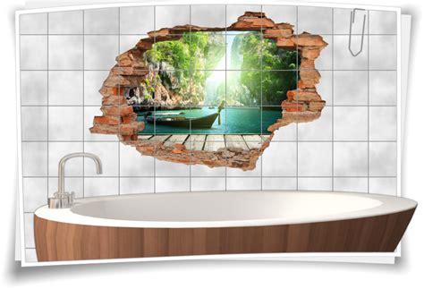 Fliesenaufkleber Natur by Fliesenaufkleber Aufkleber Wanddurchbruch Natur Wasser