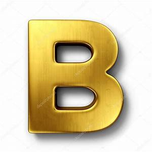 the letter b in gold stock photo c zentilia 8292937 With gold letter b