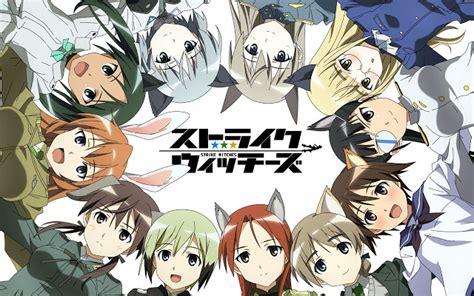 anime genre magic dan action brave witches 2016 anime perang dengan gadis neko