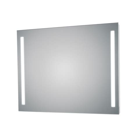 bathroom wall mirror side led lighted bathroom wall mirror ws bath
