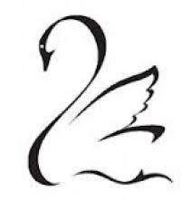 Bildergebnis für simple swan tattoo | Swan tattoo, Swans ...