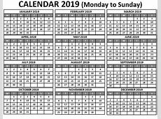 Printable Free Blank Calendar 2019 Monthly Template May