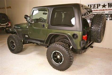 built jeep rubicon find used 2006 jeep rubicon built tj hardtop 52k