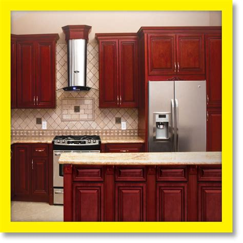 wood kitchen cabinets cherryville all wood kitchen cabinets cherry stained