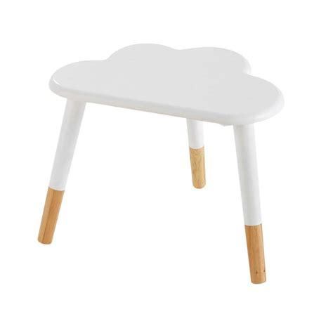 table de chevet enfant table de chevet enfant nuage blanche nuage maisons du monde