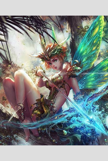 Fairy Warrior by antilous on DeviantArt
