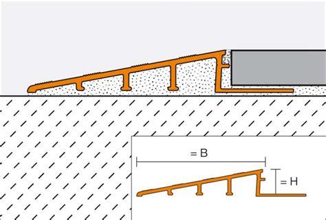 Fliesen Parkett Unterschiedliche Höhe by Fliesenprofil Fliesenprofile 220 Bergang Fliesen Fliese