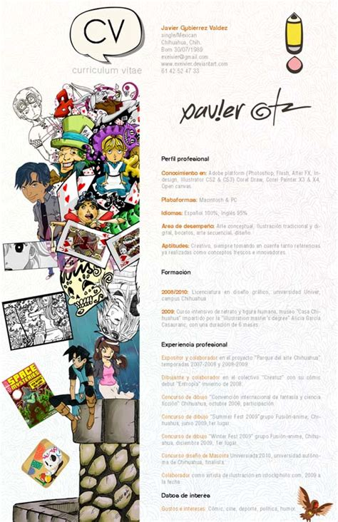 When Will Anime Resume by 14 Creative Resume Designs