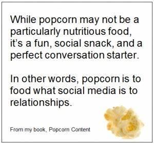 Popcorn Quotes.... Good Popcorn Quotes