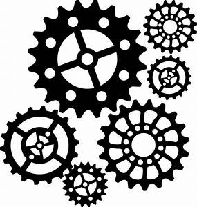 steampunk gear stencil - Google Search * Gears, Clocks