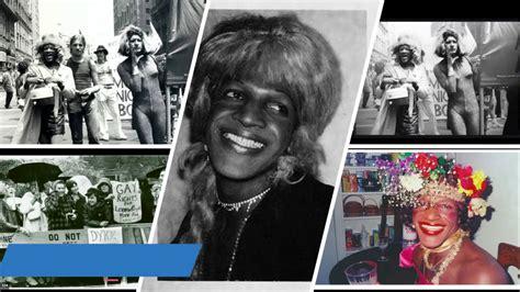 Porque Junio es el mes del orgullo LGBTQI+, Marsha P ...