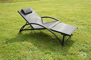 Bain De Soleil Aluminium : bain de soleil piscine 1 transat pour jardin transat ~ Dailycaller-alerts.com Idées de Décoration
