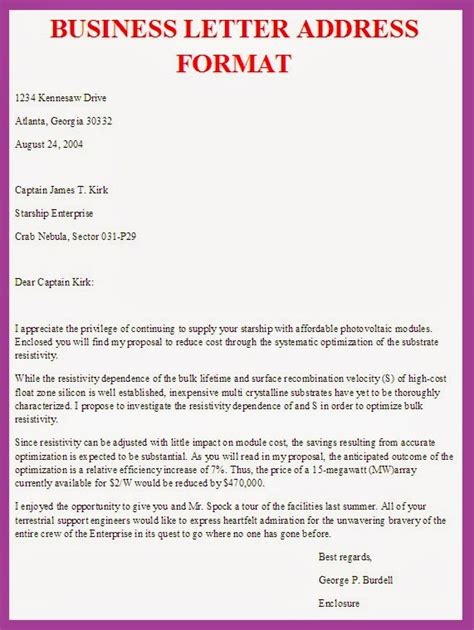 how to formally address a letter business letter format address sle business letter 35182