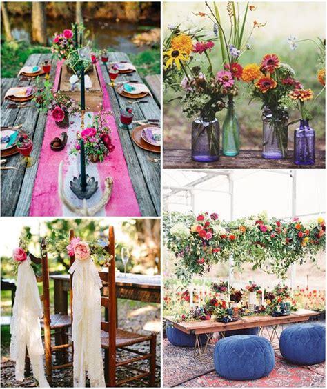 decoration mariage hippie chic