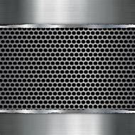 Metallic Silver Background Graphics