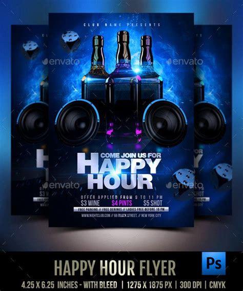 Happy Hour Invite Template Elegant 23 Happy Hour Flyer