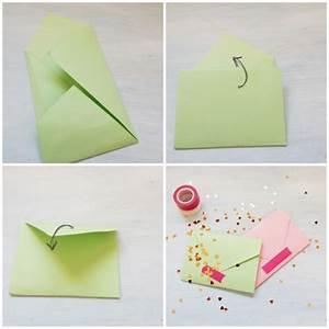 Comment Fabriquer Une Enveloppe : 1001 id es de pliage d 39 une enveloppe origami pour vos ~ Melissatoandfro.com Idées de Décoration