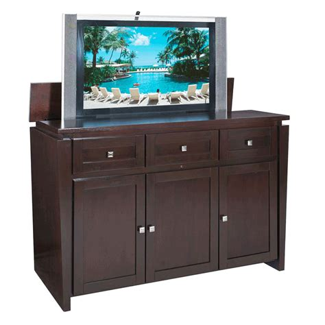 Tv Lift Cabinet Design Randy Gregory Design More