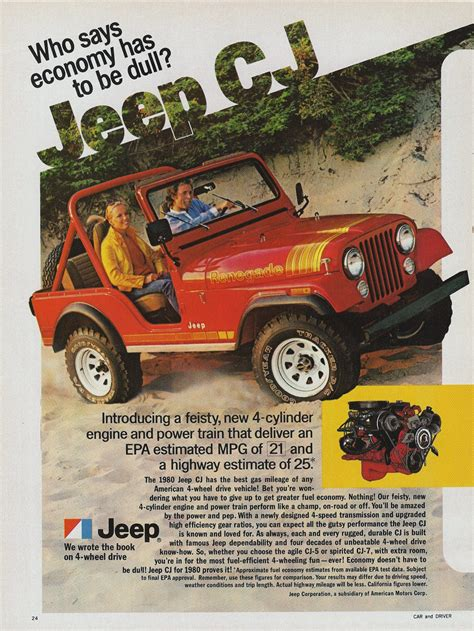 jeep wrangler ads 1980 jeep ad 0a