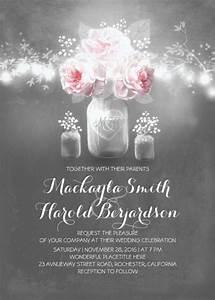 26 chalkboard wedding invitation templates free sample With mason jar wedding invitations free download