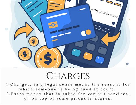 What's the difference between Charges, Dues, Fees and ...