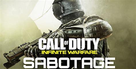 call  duty infinite warfare sabotage cheats