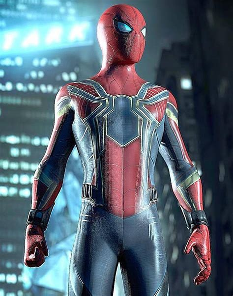 spiderman armor jacket from avengers infinity war
