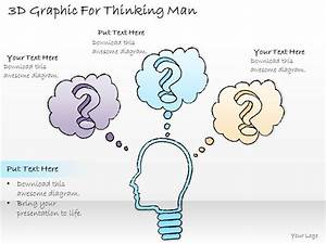 0414 Consulting Diagram 3d Graphic For Thinking Man