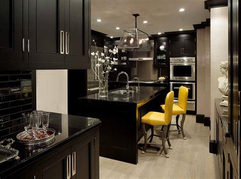 kitchen design black 43 dramatic black kitchens that make a bold statement 1105