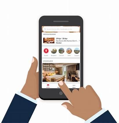 App Booking Oyo Webpage