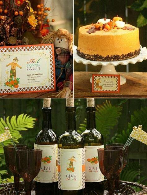 idees de decoration pour  anniversaire theme automne