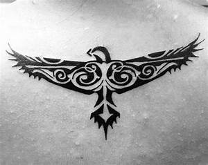 40 Tribal Eagle Tattoo Designs For Men - Bird Ink Ideas