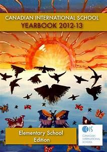 Canadian International School Yearbook 2012-13 by madhukar ...