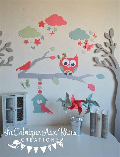 chambre hibou décoration hibou chambre bebe