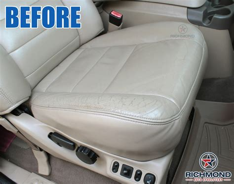 richmond auto upholstery 2002 2004 ford excursion limited leather seat cover