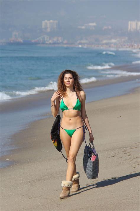 blanca blanco    piece green bikini  ugg boots