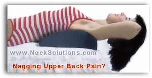 Pain between shoulder blades for Best pillow for upper back pain