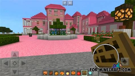 pink mansion  minecraft pe
