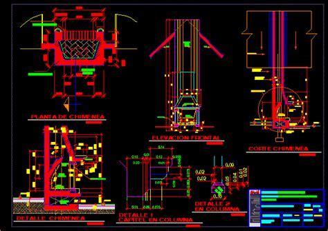 Chimney Details DWG Section for AutoCAD ? Designs CAD