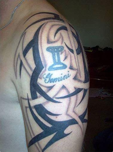 unique gemini tattoo designs  meaning  men women