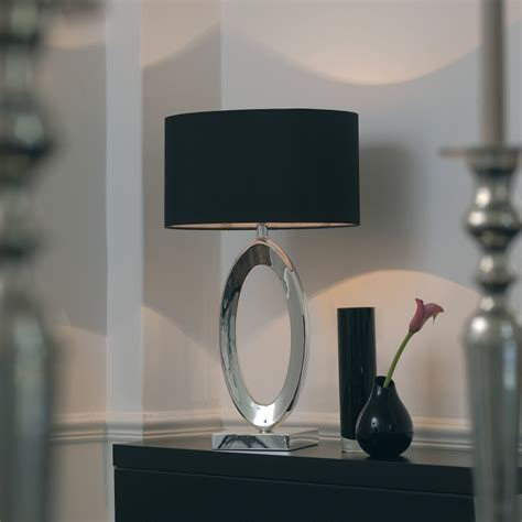Touch Lamps At Walmart by Endon Nerino 1 Light Modern Table Lamp Silver Black