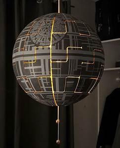 Todesstern Lampe Ikea : lylelo gestaltet eine ikea lampe in den todesstern um star wars ikea lampen todesstern und ~ A.2002-acura-tl-radio.info Haus und Dekorationen