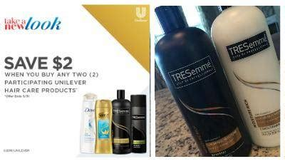 printable unilever hair care coupon save  passion