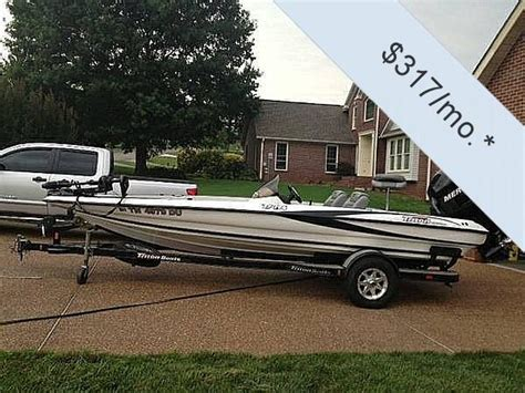 Triton Boats Dealers In Tennessee by 2006 Used Triton 196 Tr Bass Boat For Sale 20 000